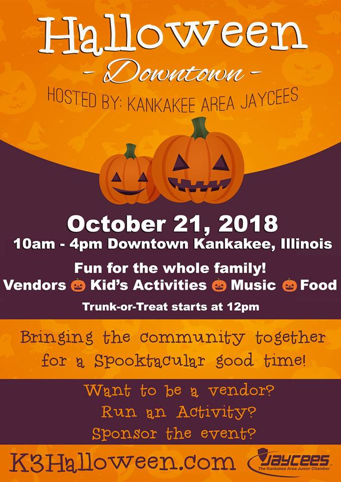Halloween Downtown - Kankakee Illinois @ Kankakee Area Jaycees | Kankakee | Illinois | United States