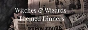Spring Wizard Themed Dining (+St. Patrick's Day!) @ Bennett-Curtis House