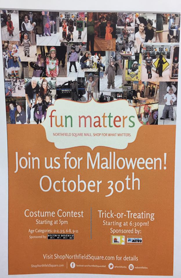 Mall-O-Ween Trick or Treating and Costume Contest