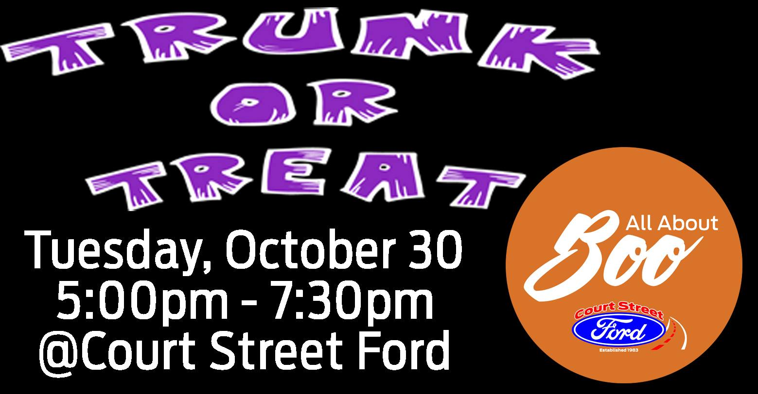 Trunk or Treat at Court Street Ford