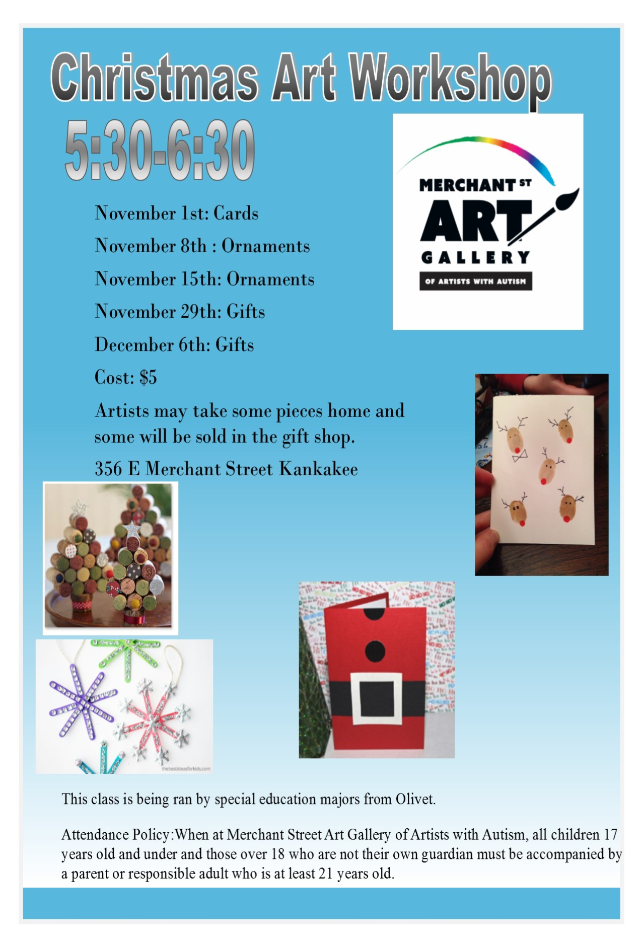 Christmas Art Workshop