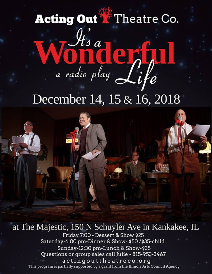 AOTC presents It's a Wonderful Life @ Burfield + Remington | Kankakee | Illinois | United States