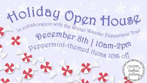 Holiday Open House at Moon Cookie Gallery @ Moon Cookie Gallery | Kankakee | Illinois | United States