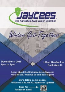Jaycees Winter Get-Together @ Hilton Garden Inn Kankakee  | Kankakee | Illinois | United States