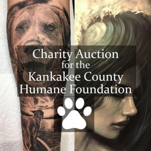 KCHF Painting - Tattoo Auction, hosted by Joey Malia @ Feed | Kankakee | Illinois | United States