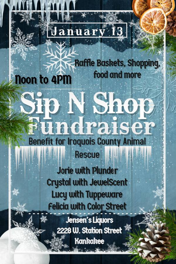 ICARe Sip N Shop Fundraiser @ Jensen's Liquor and Lounge  | Kankakee | Illinois | United States