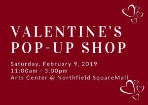 Valentine's Pop-Up Shop at the Arts Center @ Arts Center of Kankakee County | Bourbonnais | Illinois | United States