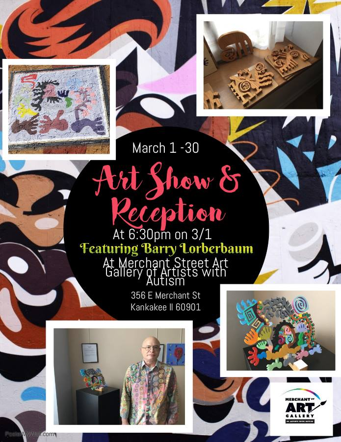 Barry Lorberbaum Art Show & Reception