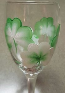St. Patrick's Day - Wine Glass Painting @ The Pub @ Midtown | Manteno | Illinois | United States