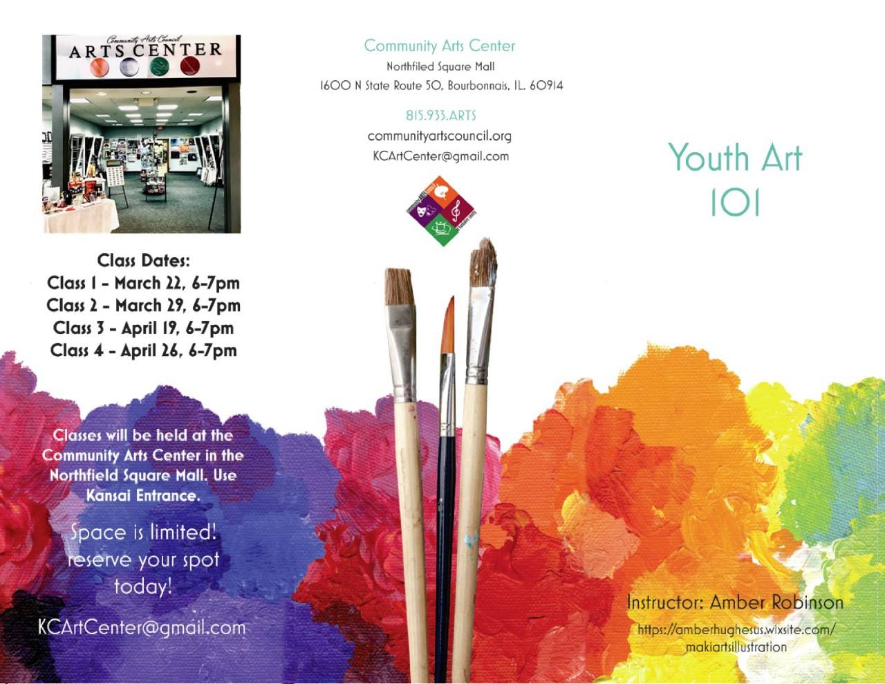 Youth Art 101 at Arts Center