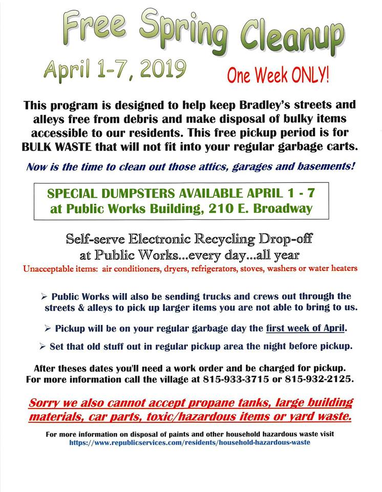Free Spring Cleanup