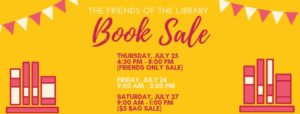 Friends of the Library Book Sale @ Bourbonnais Public Library
