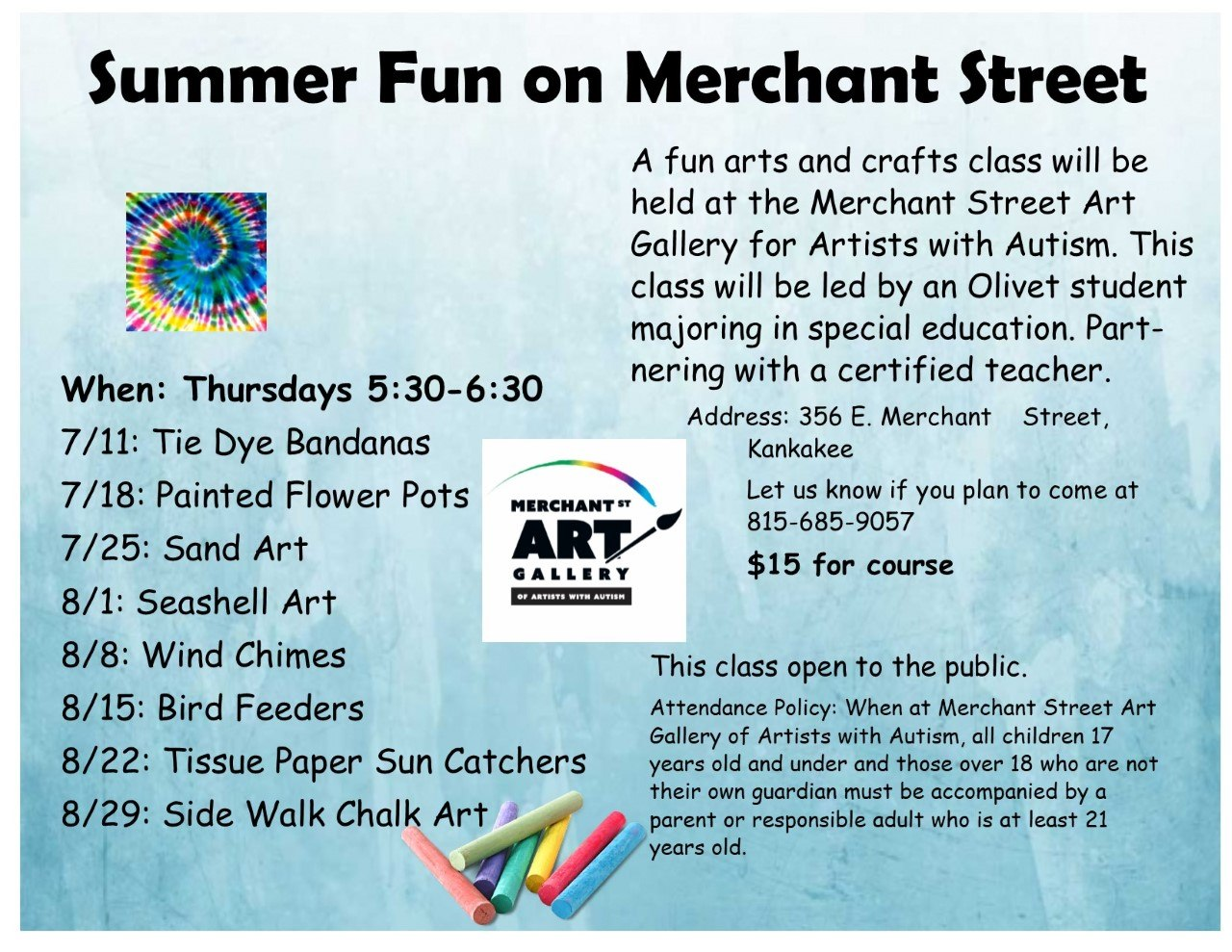 Summer Fun on Merchant Street