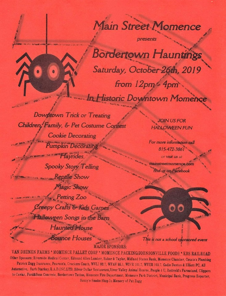 Bordertown Hauntings @ Historic Downtown Momence
