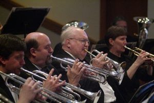Holiday Concert with River Valley Wind Ensemble @ Larsen Fine Arts Center