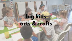 Big Kids Arts & Crafts @ Little Me Studio