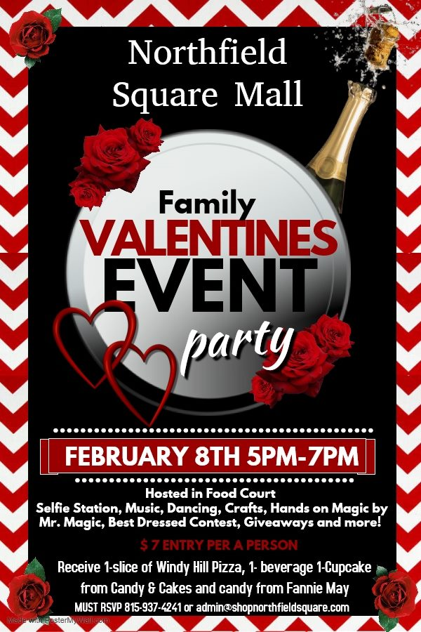 Family Valentines Party @ Northfield Square Mall