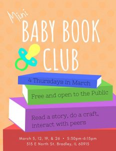 Mini Baby Book Club @ Hosted by Jumpstart Program | Greenville | South Carolina | United States