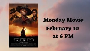 Monday Movie: Harriet @ Bourbonnais Public Library
