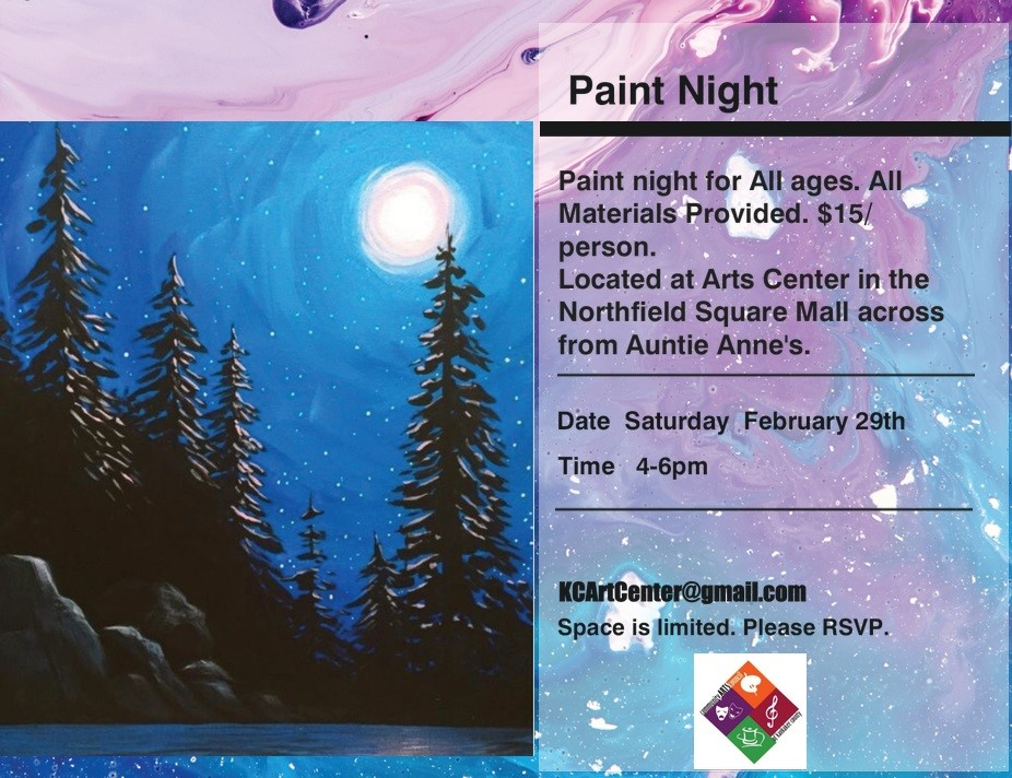 Paint Night at the Arts Center