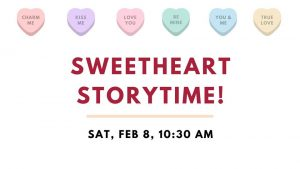 Sweetheart Storytime @ Bourbonnais Public Library
