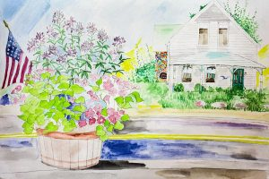 Alan Hampshire: Watercolor Wonder @ Kankakee Public Library | Rockland | Massachusetts | United States