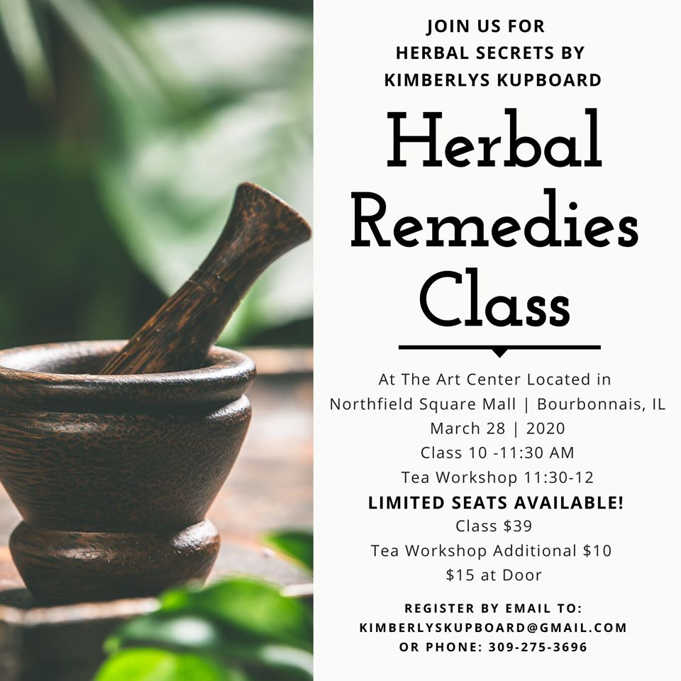 Herbal Remedy Class @ Northfield Square mall