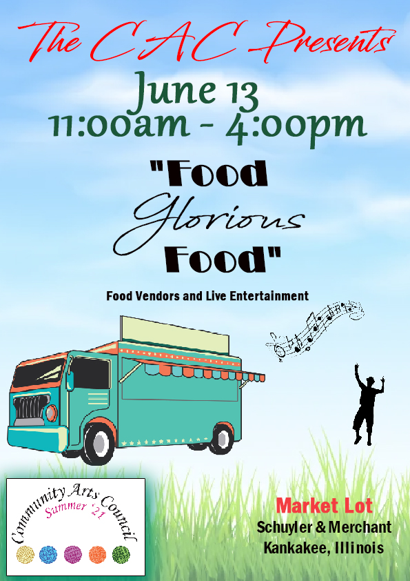 Food Glorious Food! presented by the CAC